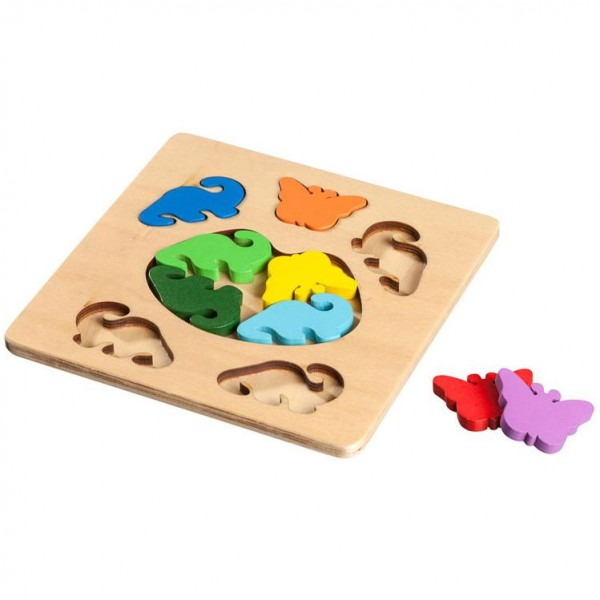 Butterfly and Dinosaur, Legepuzzle