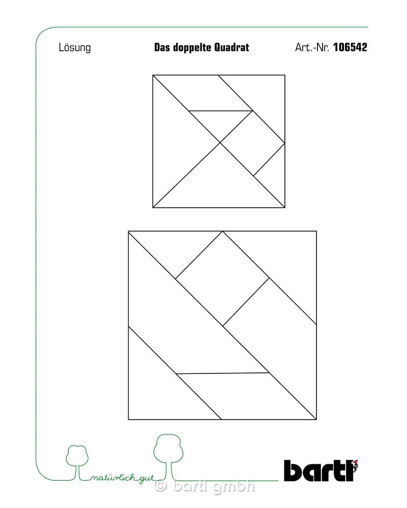 das doppelte quadrat  bartl 106542