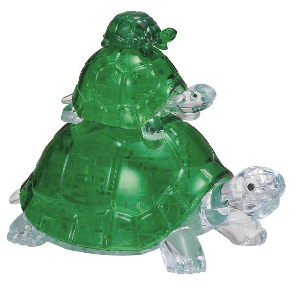 3D Crystal Puzzle - Schildkröten