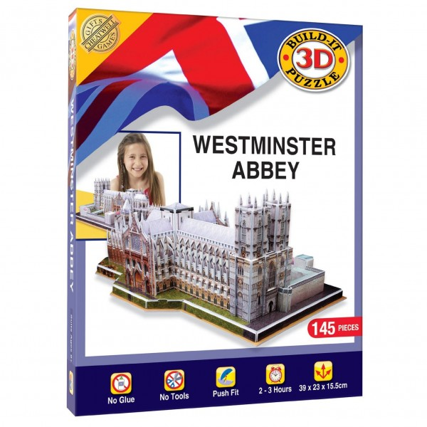 Cheatwell Build-It 3D: Westminster Abbey