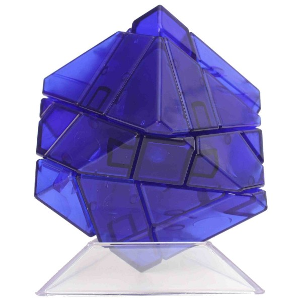 Ninja 3x3 Ghost Cube blau transparent (unstickered)