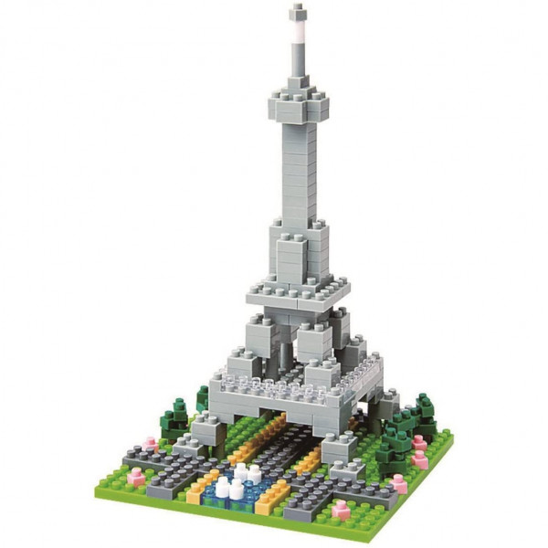 Nanoblock: Rives de la Seine à Paris