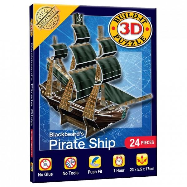 Cheatwell Build-It 3D Mini: Piratenshiff