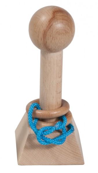 Lös den Ring XL 1, blaue Schnur