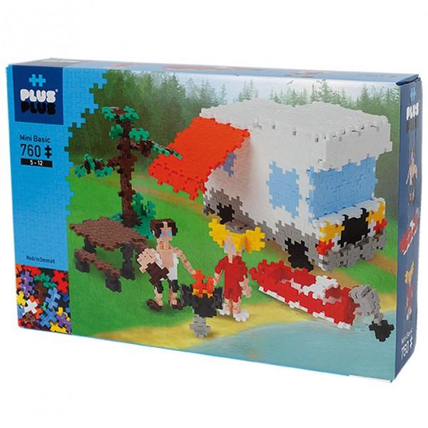 Plus-Plus Mini Basic: Camping - 760 Bausteine