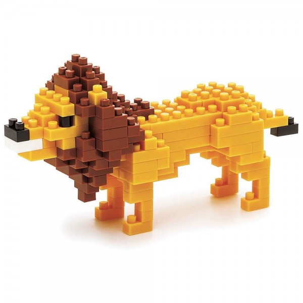 Nanoblock: Löwe