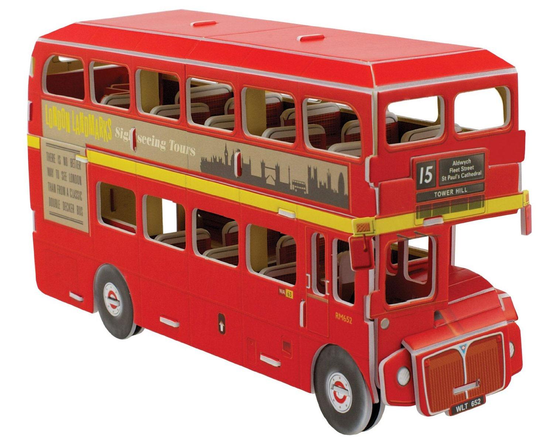 cheatwell build it 3d mini london bus ebay. Black Bedroom Furniture Sets. Home Design Ideas