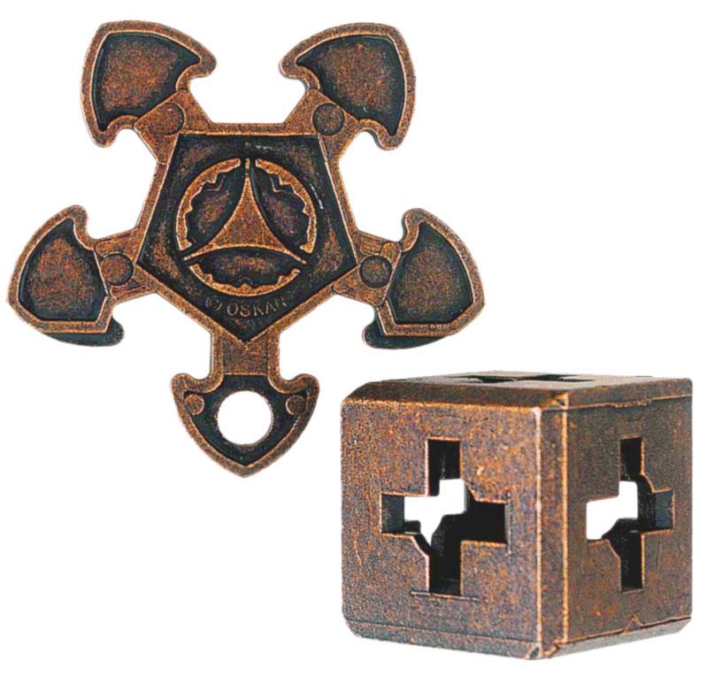 Cast Puzzle W-U Level 3 Metallpuzzle