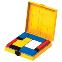 Mondrian Blocks - Yellow Edition