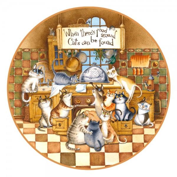 DaVici Puzzle Kids - Glückliche Katzen