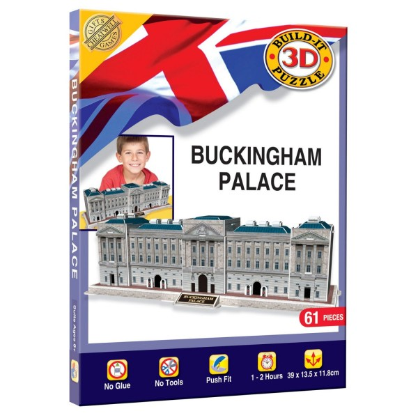 Cheatwell Build-It 3D: Buckingham Palace