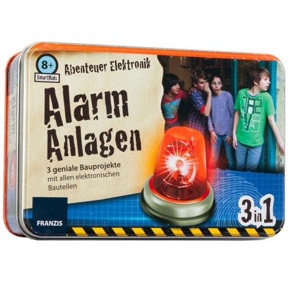 Smart Kids Metall-Box: Alarmanlagen