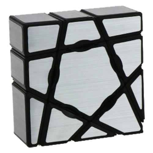 MoYu YoungJun 1x3x3 Ghost Cube Silver