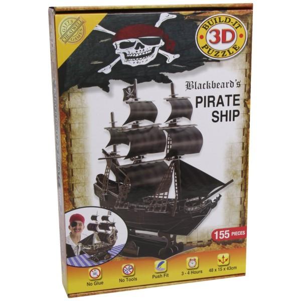 Cheatwell Build-It 3D: Blackbeard's Pirate Ship
