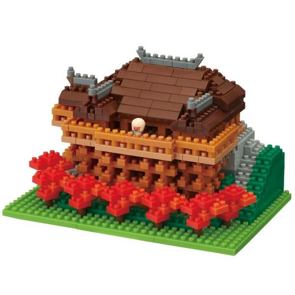 Nanoblock: Kiyomizu Temple