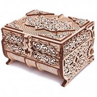 Wood Trick: Treasure Box (mit Swarowski Kristallen)