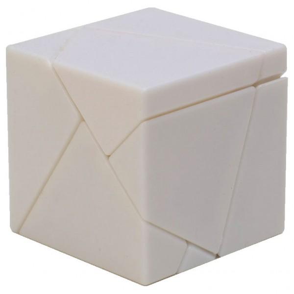 LimCube 2x2x2 Ghost Cube Weiß mit Stickern