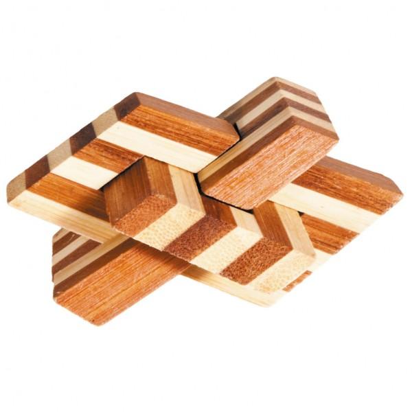 "Bambuspuzzle ""Kettenknoten"""