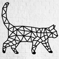 Holz-Wandpuzzle: Katze