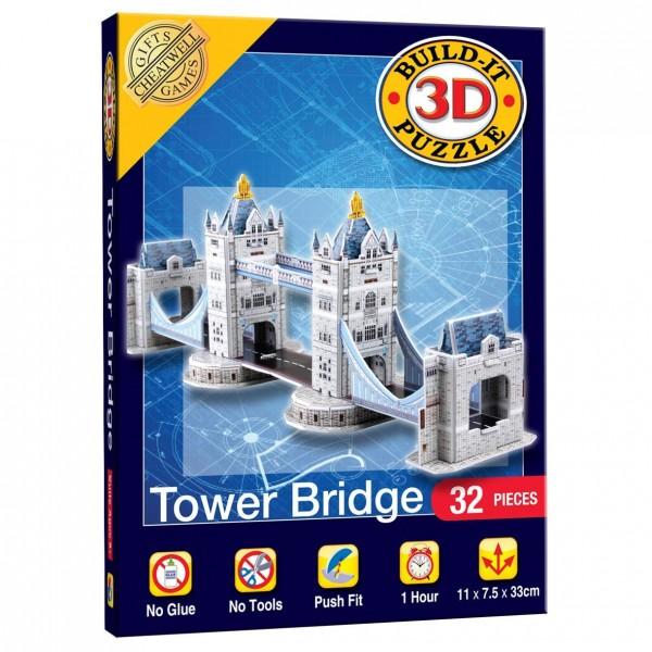 Cheatwell Build-It 3D Mini: Tower Bridge