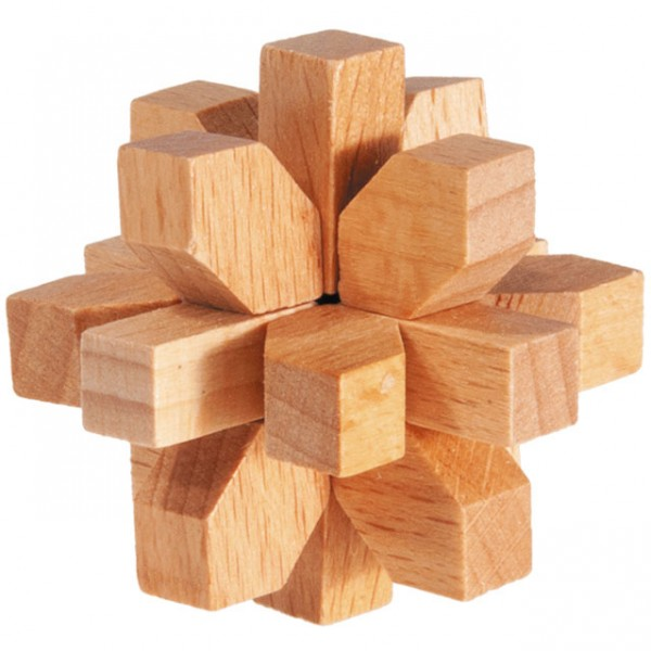 """Holzpuzzle """"Kristall"""""""