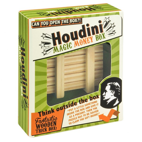 Houdini Magic Money Box