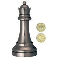 Cast Chess Black Queen (Dame)