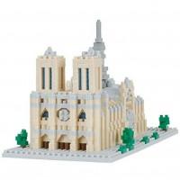 Nanoblock: Notre Dame Cathedral