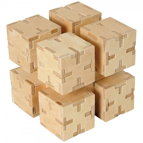 Cubiforms Stacked Cubes