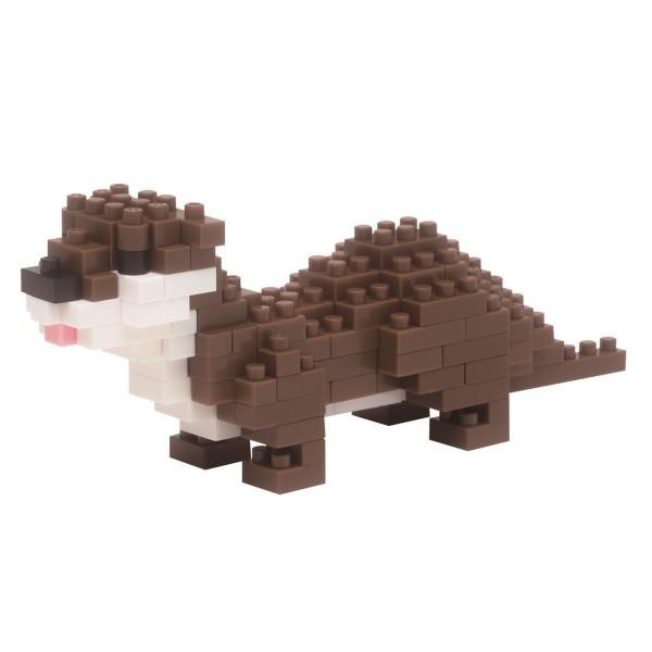 Nanoblock: Kleinklauen Otter