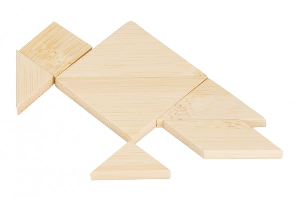 "Bambus-Puzzle in der Dose ""Tangram"""