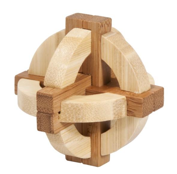 """Bambus-Puzzle in der Dose """"Doppelte Scheibe"""""""