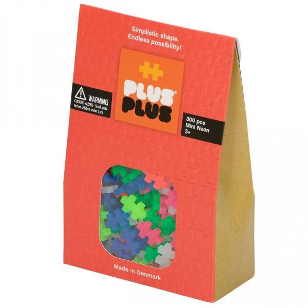 Plus-Plus Mini Neon: 300 Bausteine