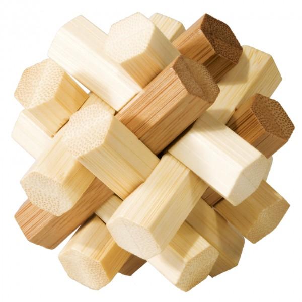 """Bambuspuzzle """"Doppelter Knoten"""""""