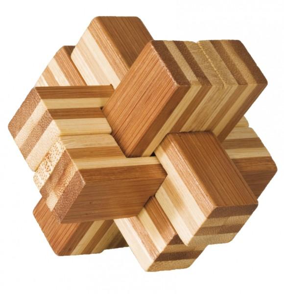 "Bambuspuzzle ""Block-Kreuz"""