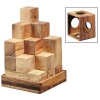 Leonardo's Mind Puzzles: 3D Soma-Cube