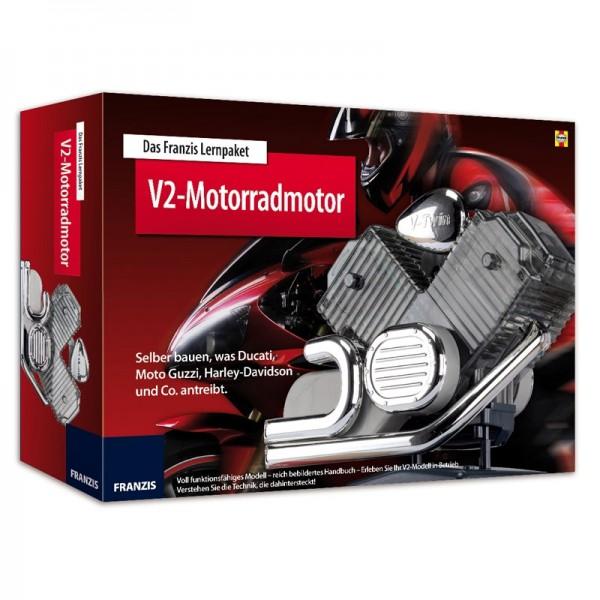 Franzis: 2-Zylinder-Motorradmotor