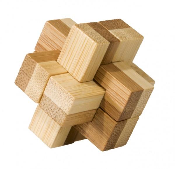 "Bambus-Puzzle in der Dose ""Block"""