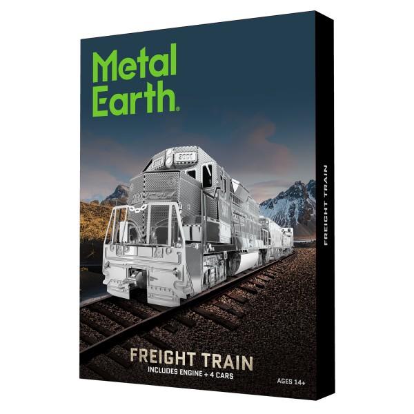 Metal Earth: Freight Train Box Version