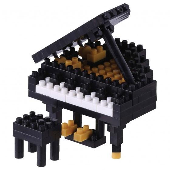Nanoblock: Grand Piano schwarz