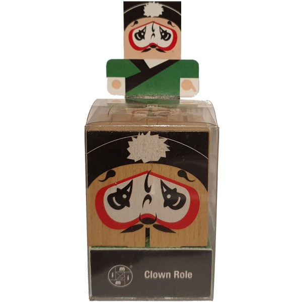 "Peking Opera Make-Ups ""Clown Role"""