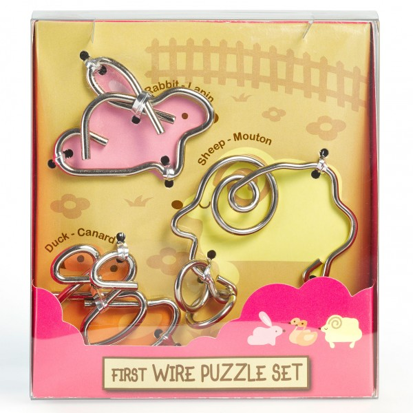 "First Wire Puzzle Set ""Animal 1"""