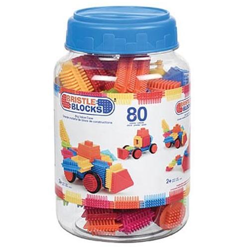 Bristle Blocks 80 Teile in der Dose