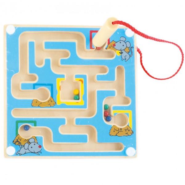 Magnetisches Labyrinth blau