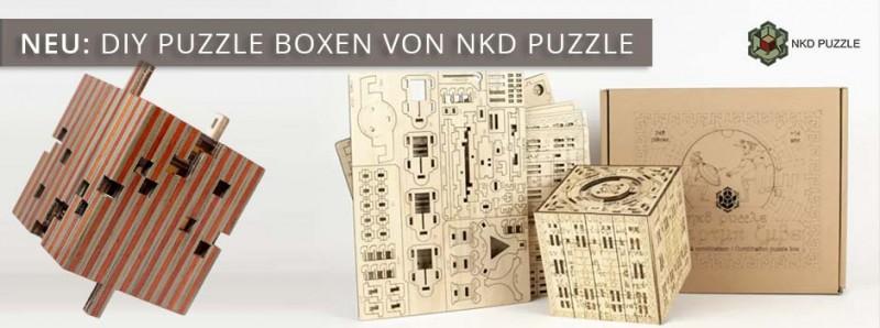 NKD Puzzle Boxen