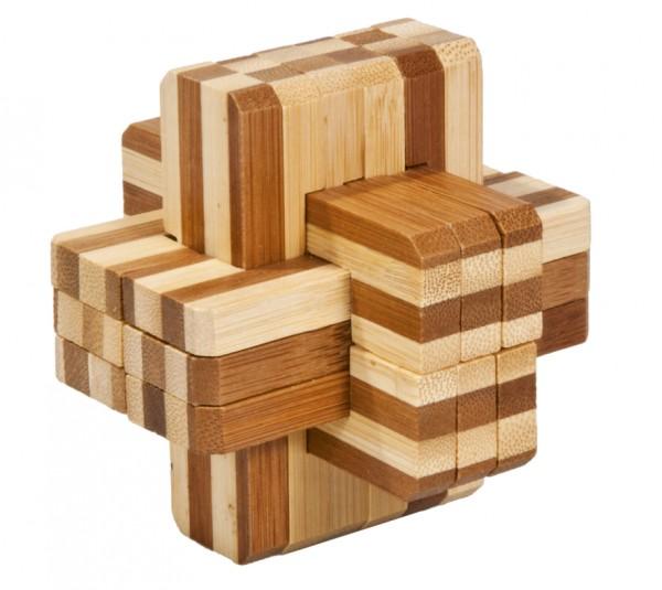 "Bambuspuzzle ""Block Kreuz 2"""