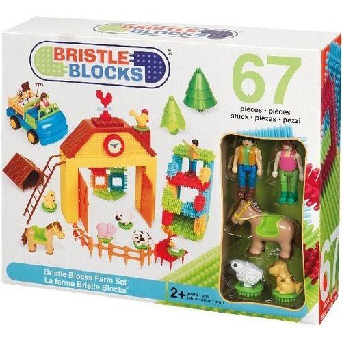 Bristle Blocks 67 Teile Farm Set