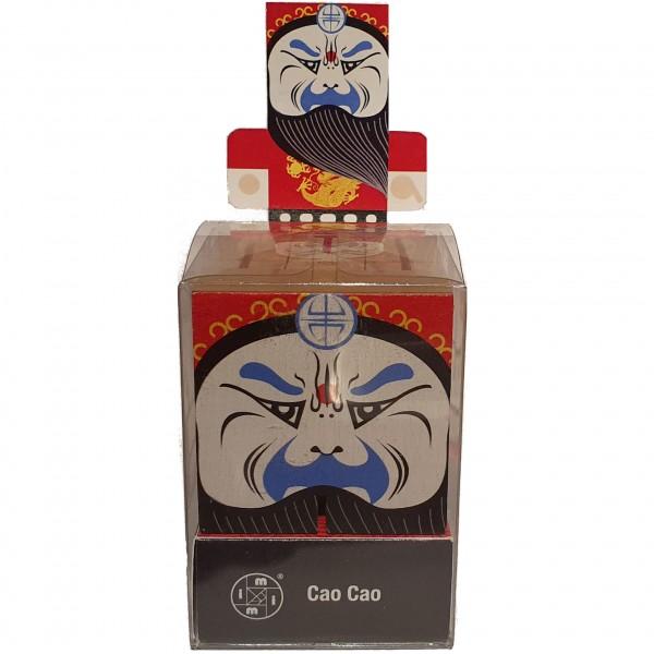 "Peking Opera Make-Ups ""Cao Cao rot"""