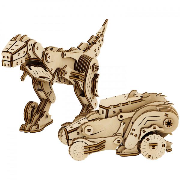 "Mr. Playwood: Transformer ""Dinocar"""