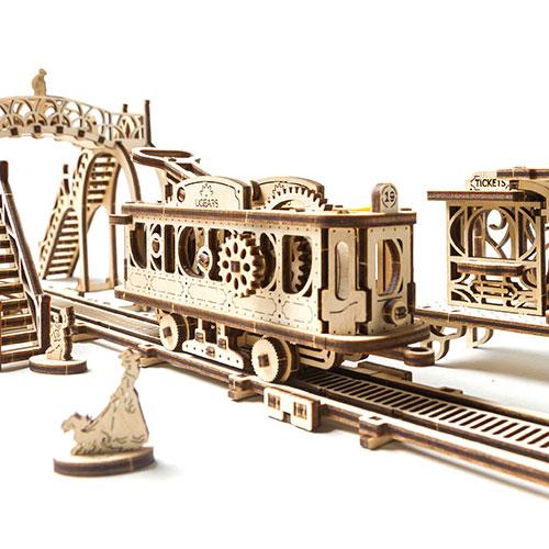 Ugears Mechanical Town Series